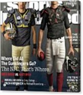 Nfc Gunslingers 2014 Nfl Football Preview Issue Sports Illustrated Cover Acrylic Print