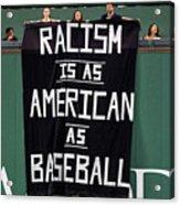 Oakland Athletics V Boston Red Sox 2 Acrylic Print
