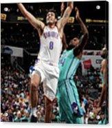 Oklahoma City Thunder V Charlotte Acrylic Print