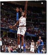 Oklahoma City Thunder V Cleveland Acrylic Print