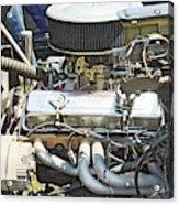 Old Car Engine Acrylic Print