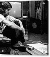 Photo Of Eric Clapton Acrylic Print