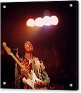 Photo Of Jimi Hendrix Acrylic Print