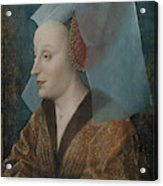 Portrait Of A Noblewoman Acrylic Print