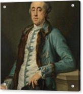 Portrait Of John Scott Of Banks Fee  Acrylic Print