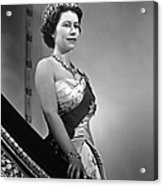 Queen Elizabeth II Portrait Acrylic Print
