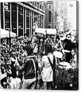 Rolling Stones On Fifth Avenue Acrylic Print