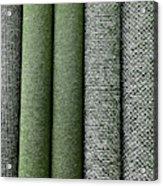 Rolls Of New Carpet Acrylic Print