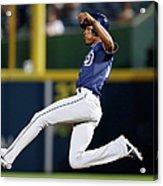San Diego Padres V Atlanta Braves Acrylic Print