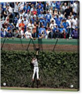 San Francisco Giants V Chicago Cubs 2 Acrylic Print