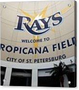 Seattle Mariners V Tampa Bay Rays Acrylic Print