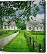 Sherbrooke Village Acrylic Print