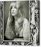 Stevie Nicks Fleetwood Mac Acrylic Print