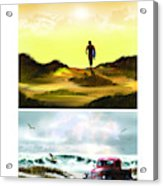 Surfer... Acrylic Print