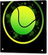 Tennis Player Tennis Racket I Love Tennis Ball Acrylic Print