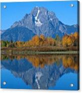 Teton Mountains Acrylic Print