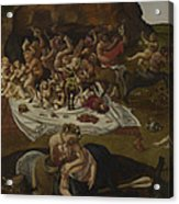 The Fight Between The Lapiths And The Centaurs  Acrylic Print