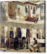 The Rajah Starting On A Hunt  Acrylic Print