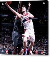 Washington Wizards V Brooklyn Nets Acrylic Print
