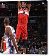 Washington Wizards V Philadelphia 76ers Acrylic Print
