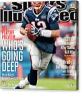 Whos Going Deep 2012 Nfl Playoff Preview Issue Sports Illustrated Cover Acrylic Print