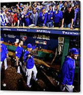 Wild Card Game - Chicago Cubs V Acrylic Print