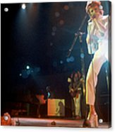 Ziggy Stardust Era Bowie In La Acrylic Print