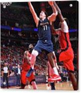 Dallas Mavericks V Houston Rockets Acrylic Print
