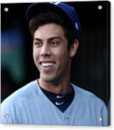 Milwaukee Brewers V New York Mets 20 Acrylic Print
