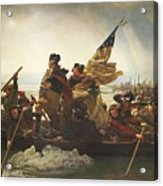 Washington Crossing The Delaware  Acrylic Print