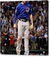 World Series - Chicago Cubs V Cleveland 20 Acrylic Print