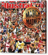 2004 March Madness College Basketball Preview Sports Illustrated Cover Acrylic Print