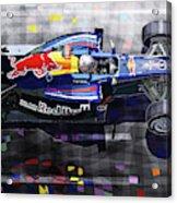 2010 Red Bull Rb6 Vettel Acrylic Print