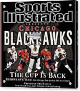 2010 Stanley Cup Finals Sports Illustrated Cover Acrylic Print