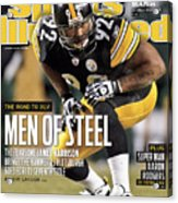 2011 Afc Championship New York Jets V Pittsburgh Steelers Sports Illustrated Cover Acrylic Print