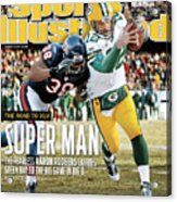 2011 Nfc Championship Green Bay Packers V Chicago Bears Sports Illustrated Cover Acrylic Print