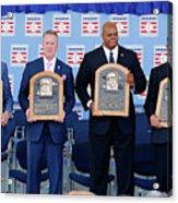 2014 Baseball Hall Of Fame Induction Acrylic Print