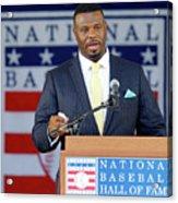 2016 Baseball Hall Of Fame Induction 2016 Acrylic Print