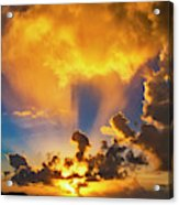2016 First Sunrise 2 Acrylic Print