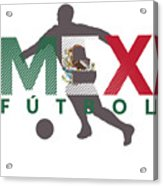 2018 Soccer Cup Mexico Flag Mex Championship Iso Acrylic Print