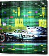 2019 Australian Gp Mercedes Bottas Winner Acrylic Print