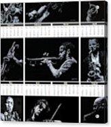 2019 High Resolution R Young Art Musicians Calendar Acrylic Print