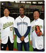 2019 Opening Series Oakland Athletics 2019 Acrylic Print