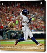 2019 World Series Game 5 - Houston Acrylic Print