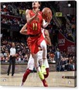 Atlanta Hawks V Cleveland Cavaliers Acrylic Print