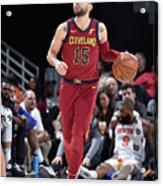 New York Knicks V Cleveland Cavaliers Acrylic Print