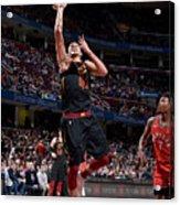 Toronto Raptors V Cleveland Cavaliers Acrylic Print