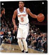 Memphis Grizzlies V New York Knicks Acrylic Print