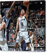 Memphis Grizzlies V San Antonio Spurs - Acrylic Print