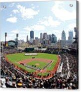 St Louis Cardinals V Pittsburgh Pirates Acrylic Print
